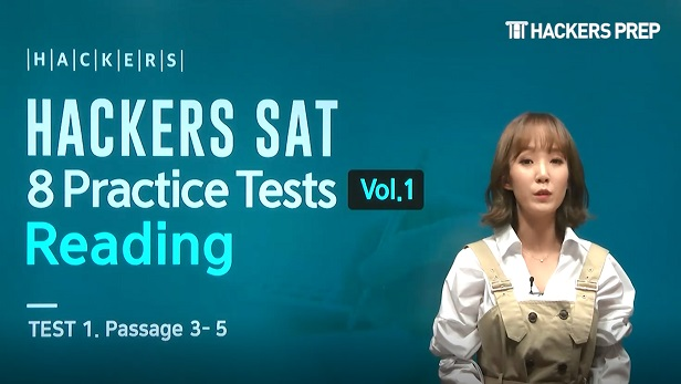 HACKERS SAT 8 Practice Tests Vol.1 Reading