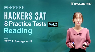 HACKERS SAT 8 Practice Tests Vol.2 Reading